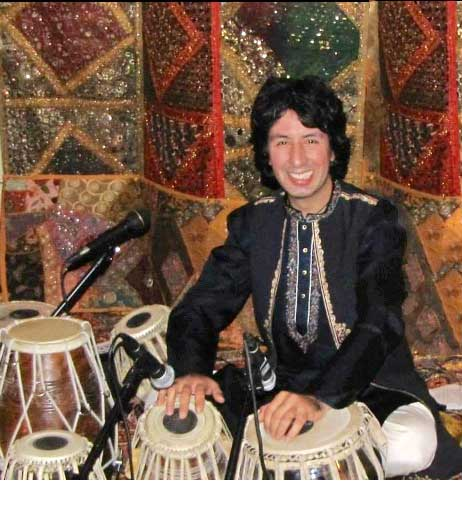 Masood Omari of Tabla for Two