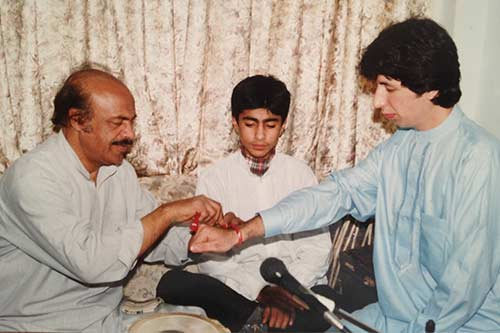 Masood Omari's gurmani ceremony with Araf Chishty