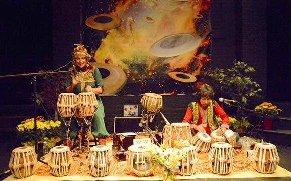 tabla for two at dcac