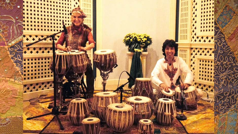 tabla for two in concert