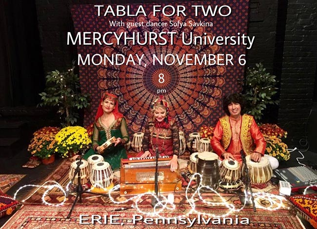 Tabla for Two at Mercyhurst