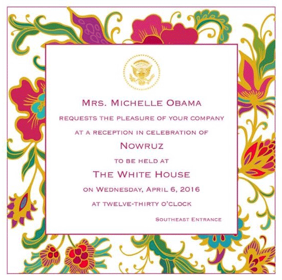 tabla for two's invitation to the white house