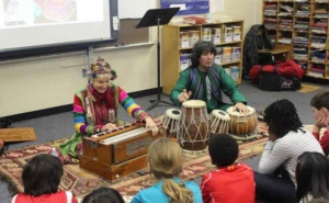 tabla for two at John Eaton Elementary School