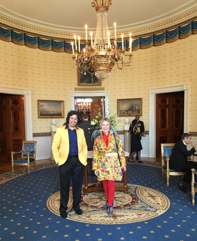 tabla for two at the white house