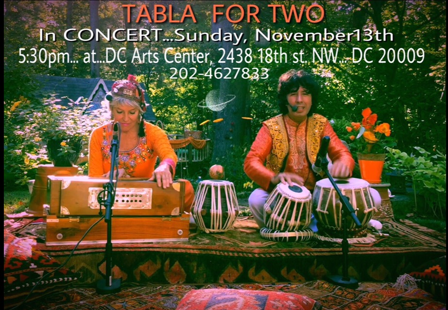 tabla for two in concert dcac