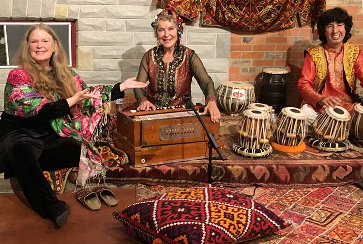 Tabla for Two with Rebecca-Hoffberger of the American Visionary Arts Museum
