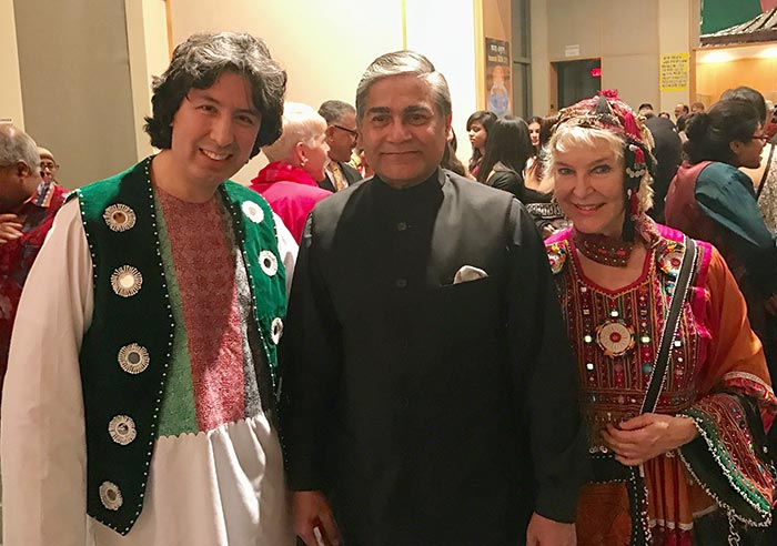 tabla for two with the ambassador of Bangladesh