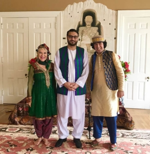 Tabla for two with Afghanistan Ambassador