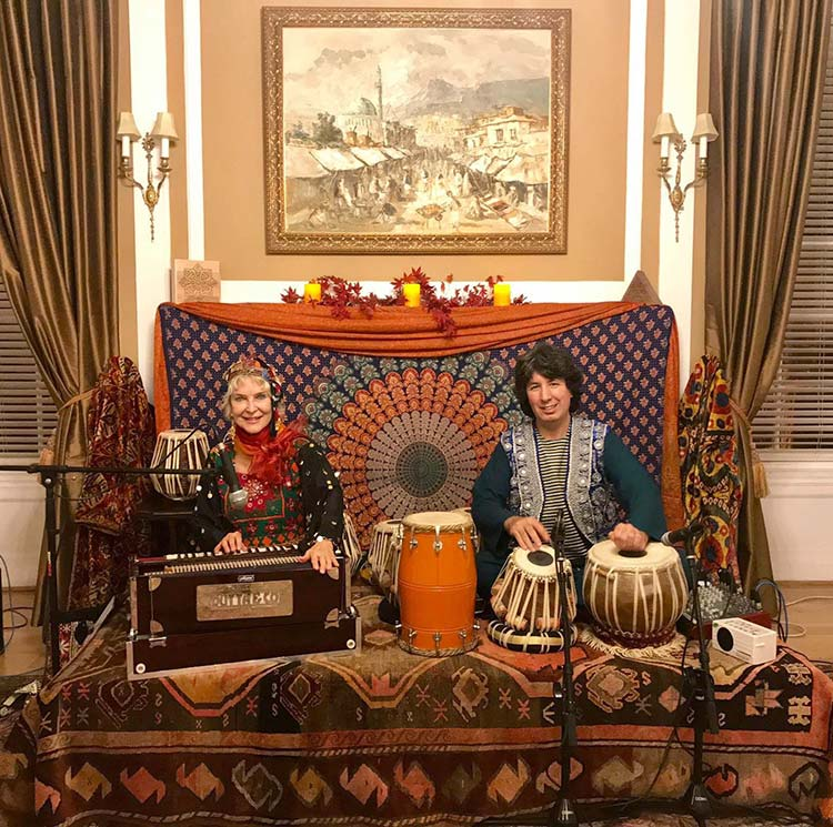 Tabla for Two at Embassy of Afghanistan